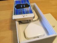 Perfect condition apple iphone 5s 32GB factory unlocked gold & white box accessories ideal gift