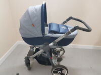 Amelis Travel system 3in1/pram/puschair/carrycot