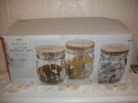 Next Tea Sugar & Coffee Storage Jars = New
