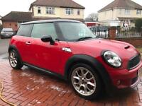 2007 R56 Mini Cooper S 1.6 Turbo MOT,Leather,Nav