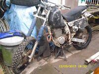HONDA XR250 R MOTORCYCLE