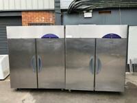 Commercial double door fridge for shop cafe restaurant nshha