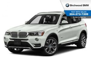 2017 BMW X3 Xdrive28i Premium Enhanced Package
