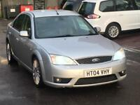 2004 FORD MONDEO ST 220 3.0 V6 FULLY LOADED SAT NAV XENONS LEATHER CLEAN CAR DRIVES LOVELY ST220