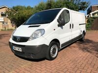 VAUXHALL VIVARO 2007 LWB/NISSAN PRIMASTAR/RENAULT TRAFIC-12 MONTHS MOT-FIRST TO SEE WILL BUY