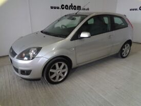 2008 Ford Fiesta 1.4 TDCi Zetec Silver 3door Full History MOT'd Alloys Air Con CD HPi Clear £1695