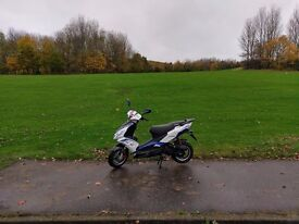 Lexmoto 2016 moped 50CC like new only 3 months in use still on guarantee