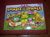 Rumble in the Jungle Board Game. Age 5+. Hardly Used.