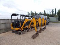 Warwick Plant Ltd Mini Digger and dumper service and repair