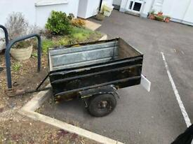 Car trailer - used . Tows well.