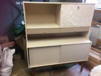 Retro sideboard unit