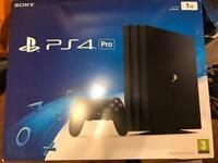 Rare PS4 PRO 1TB FW 4.07 Brand new and unused only opened to confirm firmware 4.07 4K HDR