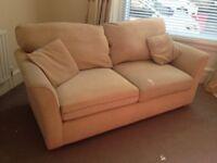 Large 2 seater settee, free, buyer uplifts.