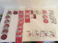 Job Lot of 30 Christmas Accessory TAG Packs – BRAND NEW RRP: £60