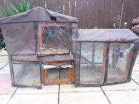 Rabbit hutsh with Cover
