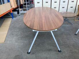 Walnut Herman Miller Boardroom Table, Seats Up To 8, Meeting, Office, 2.2 metre