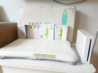 **Bundle!! Nintendo Wii Console + Wii Fit Board + Wii Fit CD + booklets***