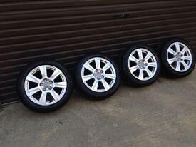 17 inch Audi alloys very clean wheels 5 x 112