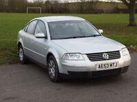 Volkswagen passat 2004 PART EXCHANGE TO CLEAR LONG MOT