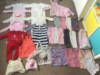 Baby girl clothes bundle 3-6 m