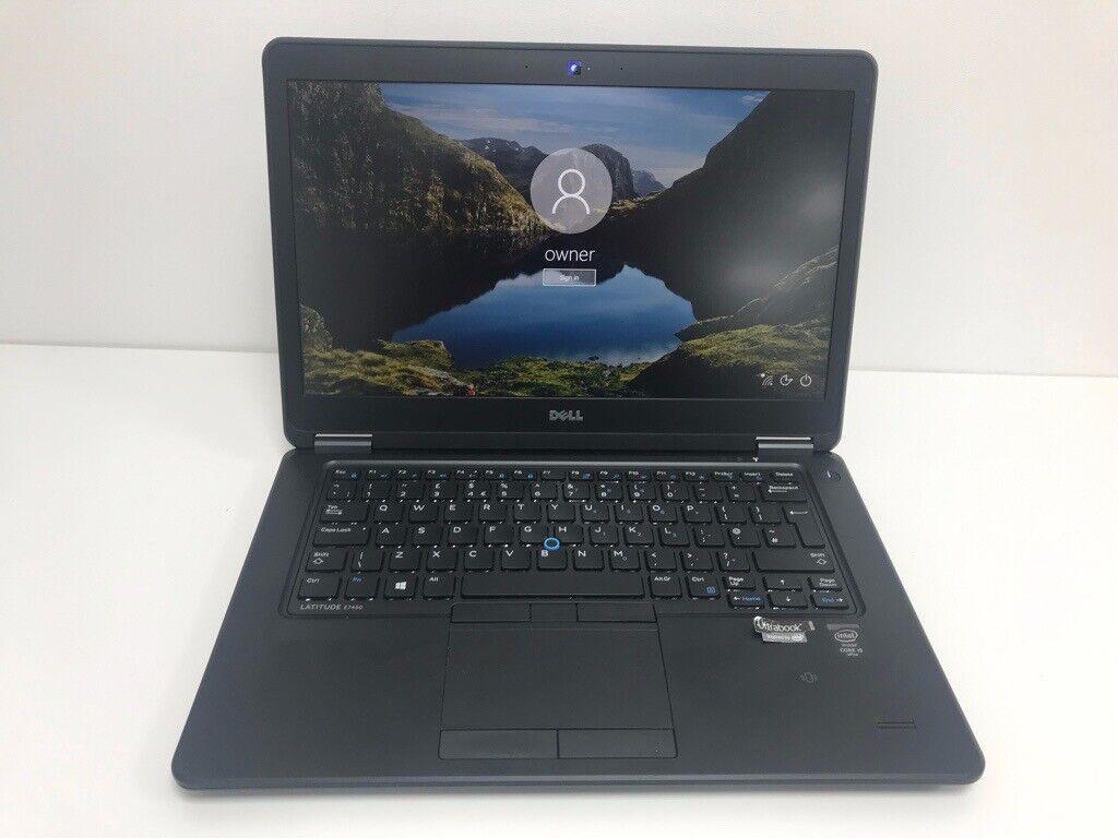DELL LATITUDE E7450 ULTRABOOK Intel® Core™ i5 – 5300U (5th Gen) 128GB SSD  8GB RAM FULL HD IPS | in Aylesbury, Buckinghamshire | Gumtree