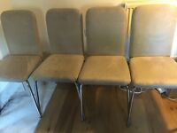 4 dining/ kitchen chairs