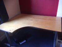 Large L-shaped Office Desk
