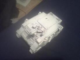 space marine rhino tank