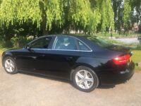 BLACK AUDI A4 TDI FOR SALE • 48'000 miles • fantastic condition • manchester • leather interior