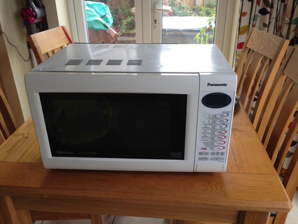Panasonic Slim Line Combination Microwave Oven 1000 Watt