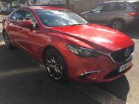 Beautiful Red Mazda 6 Nav Sport - Petrol, manual, low mileage. Very clean piece.