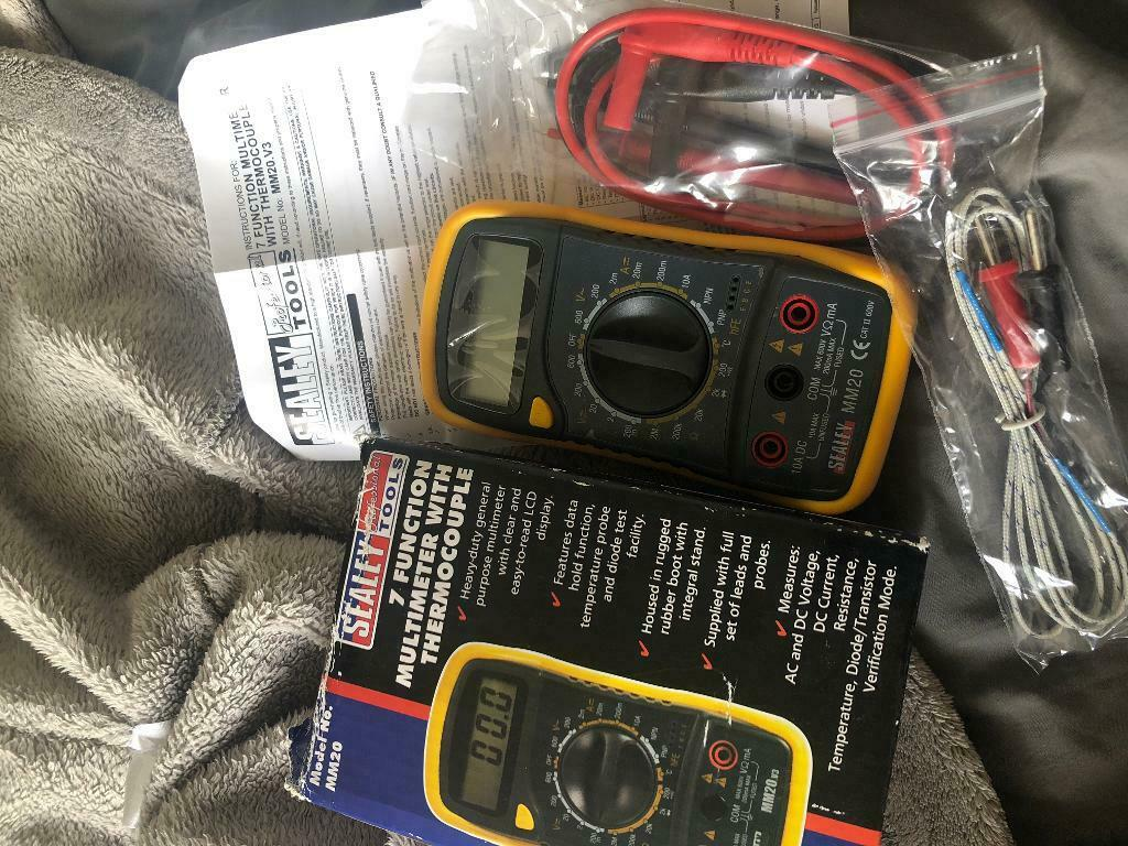 Multimeter with Thermocouple | in Newport | Gumtree
