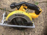 Dewalt XR 18v saw