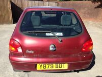 Ford Fiesta - no MOT/tax - ideal for spares or for renivating