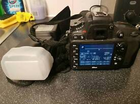 Nikon D610 + 2 batteries + flash gun + remote + original box. £1100
