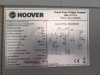 Hoover frost fridge freezer