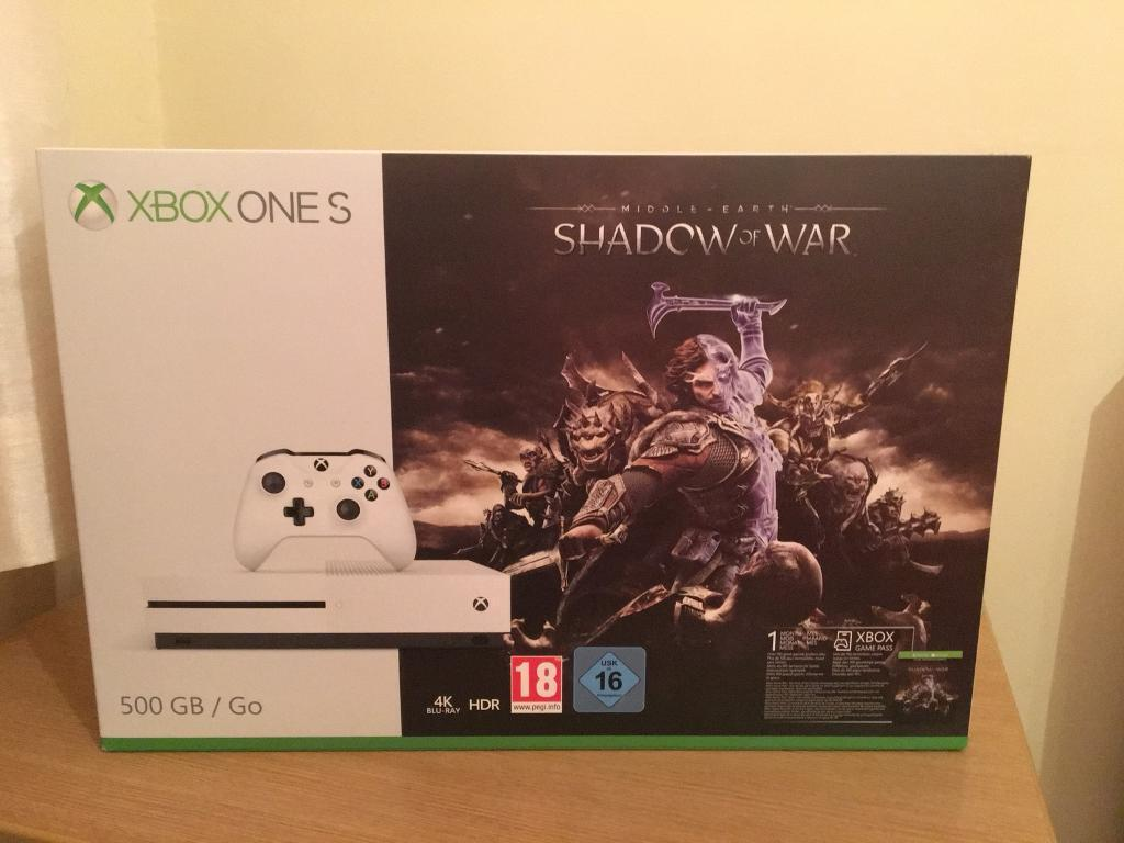 NEW & SEALED XBOX ONE S CONSOLE! FREE DELIVERY!
