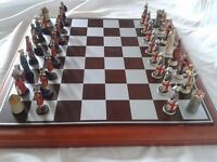 Crusades - Richard the Lionheart verses Saladin Chess Set