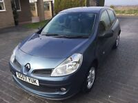 \\\ 07 RENAULT CLIO 1.1 EXTREME \\\ ONLY 48K \\\ NEW SHAPE \\\ NOW £1799 ,,