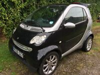 Lovely little smart car for sale. Need to get manual car for daughter to learn on.