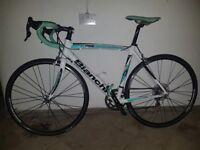 Bianchi C2C Via Nirone 7 Xenon Alu/Carbon Road Bike (55cm)