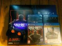 Ps4 500gb with 4 games
