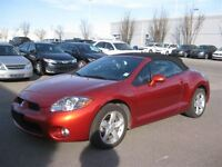 2007 Mitsubishi ECLIPSE SPYDER GS-AUTO-AIR-LEATHER-MINT CONDITIO