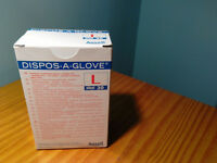 ANSELL HEALTHCARE DISPOS-A-GLOVE SIZE L