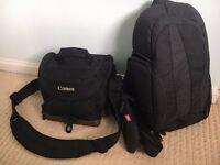 Genuine Canon 100EG and 300EG Custom Gadget Bag Bundle