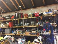 Garage sale! Tools everything must go. House clearance