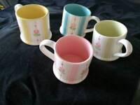 Tea Rose Mugs