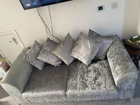 Stunning, excellent condition 2 x 3 seater sofas