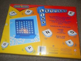Chad Valley Letter Link board game ages 9+ years £5 ono