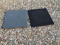 45 Surfacing & Walkway Slabs made of Recycled Rubber For Terraces, Balconies & Swimming Pool areas